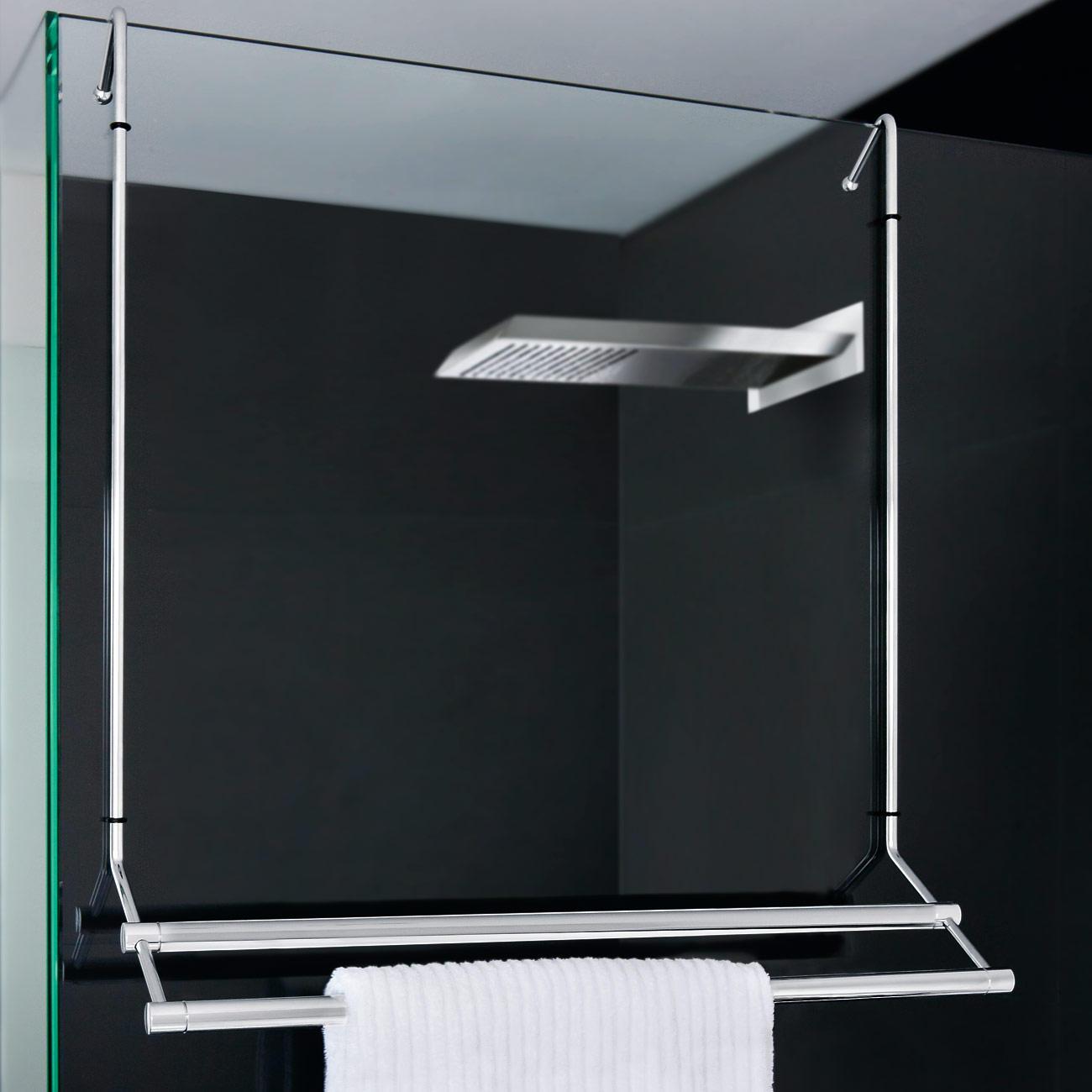Tag re suspendue ou porte serviettes pas cher pro idee for Porte serviette paroi de douche