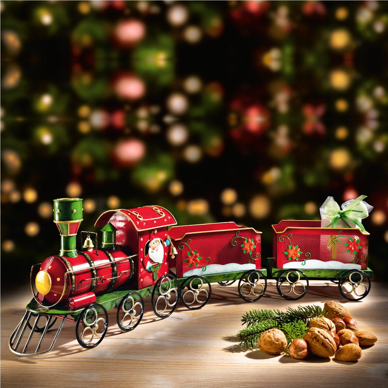 #B11A25 Petit Train Du Père Noël Garantie Produit De 3 Ans 6083 decoration de noel train electrique 1300x1300 px @ aertt.com