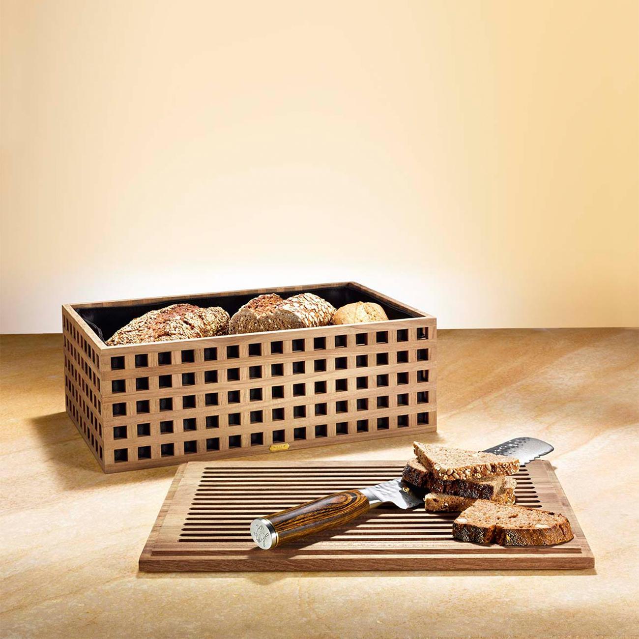 corbeille pain en teck garantie produit de 3 ans. Black Bedroom Furniture Sets. Home Design Ideas