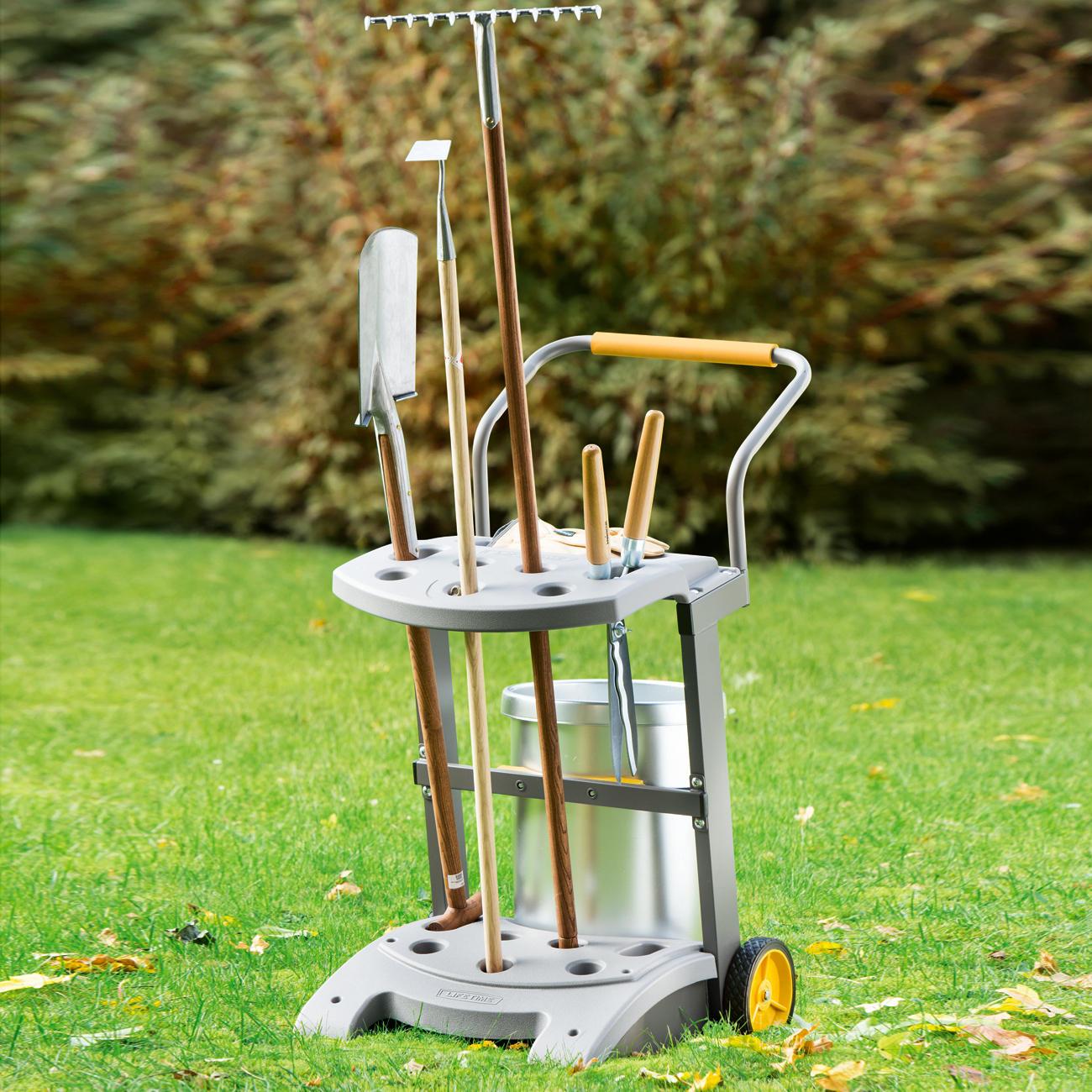 chariot d 39 outils de jardin garantie produit de 3 ans. Black Bedroom Furniture Sets. Home Design Ideas