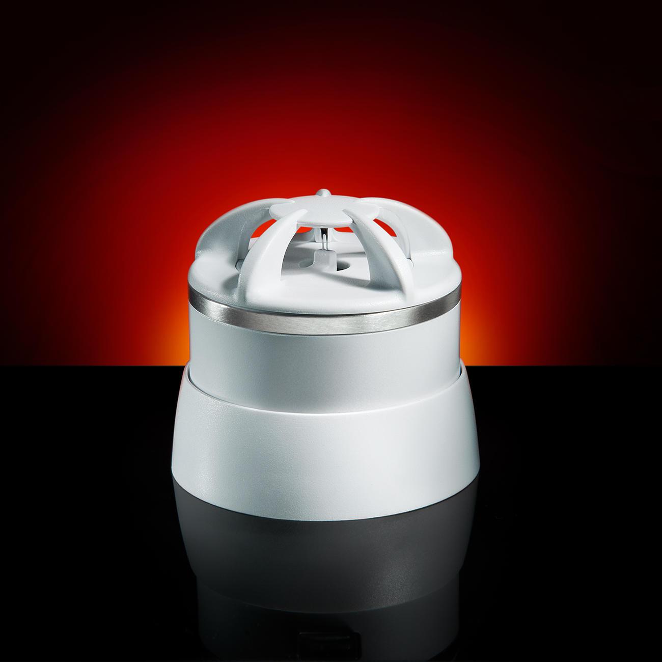 D tecteur de fum e ou de chaleur invisible 39 10 ans 39 for Detecteur chaleur