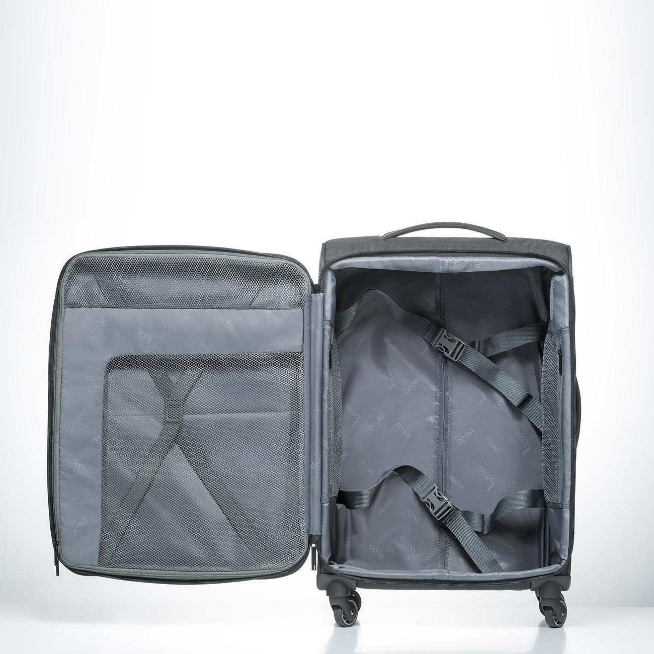 valise trolley en nylon dobby par oconi pas cher pro idee. Black Bedroom Furniture Sets. Home Design Ideas