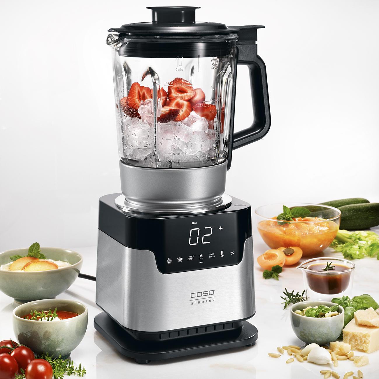 Robot cuiseur caso garantie produit de 3 ans - Robot qui chauffe et mixe ...