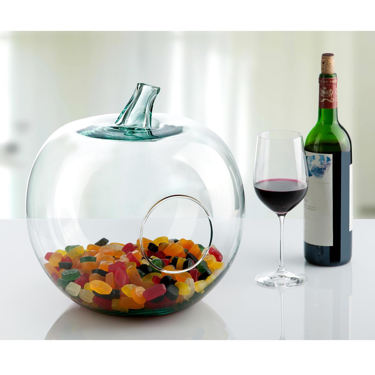 pomme d corative en verre garantie produit de 3 ans. Black Bedroom Furniture Sets. Home Design Ideas