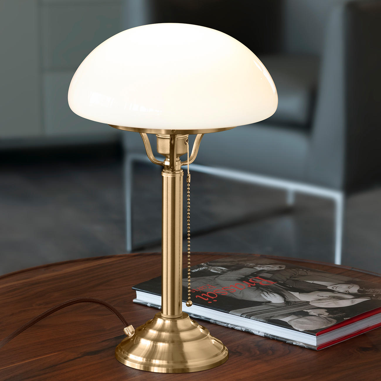 lampe champignon berliner messing pilzlampe pas cher. Black Bedroom Furniture Sets. Home Design Ideas