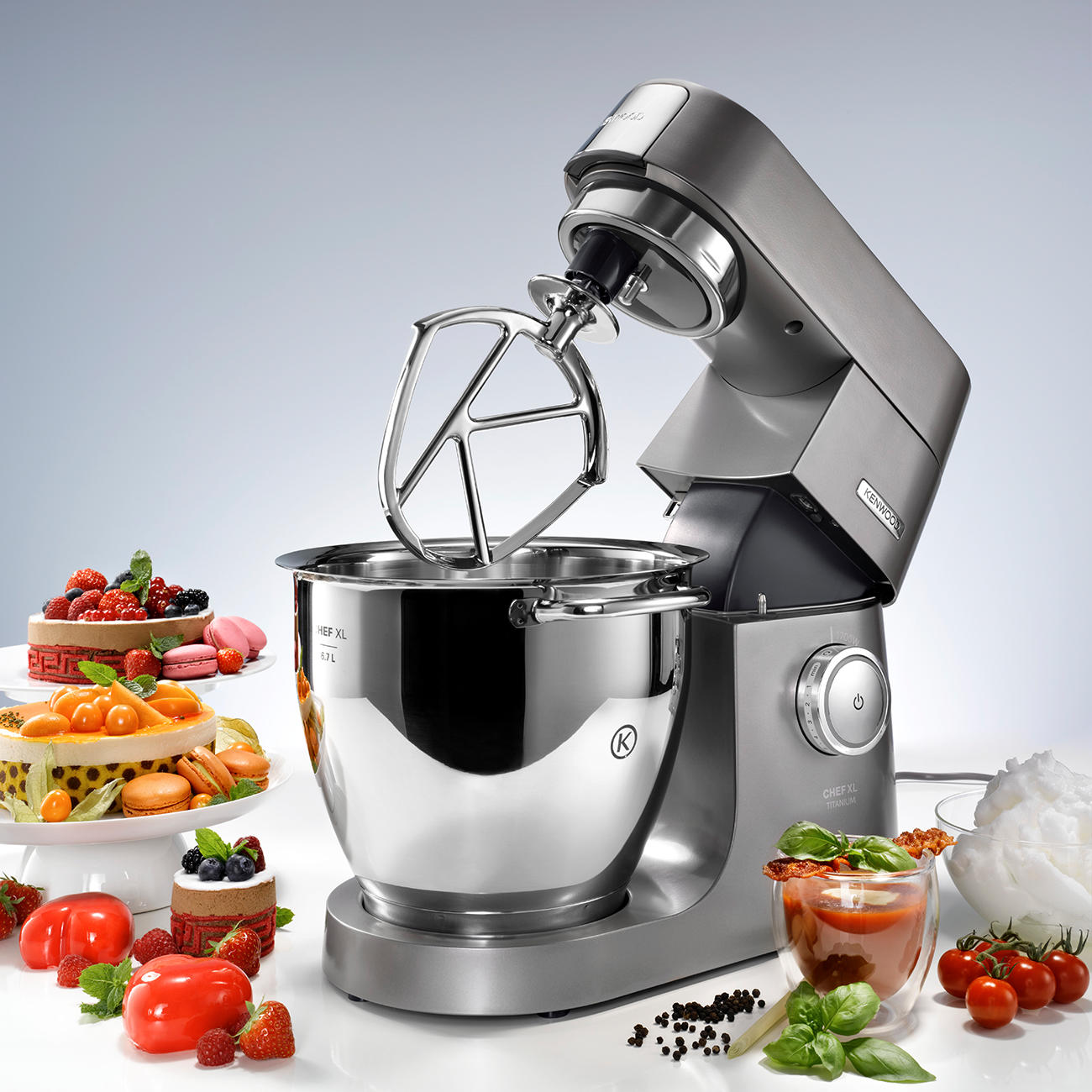 Robot m nager chef xl titanium kenwood pas cher pro idee for Appareil menager cuisine