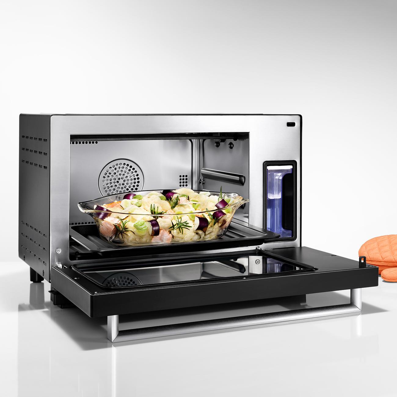 acheter four vapeur steam chef caso en ligne pas cher. Black Bedroom Furniture Sets. Home Design Ideas