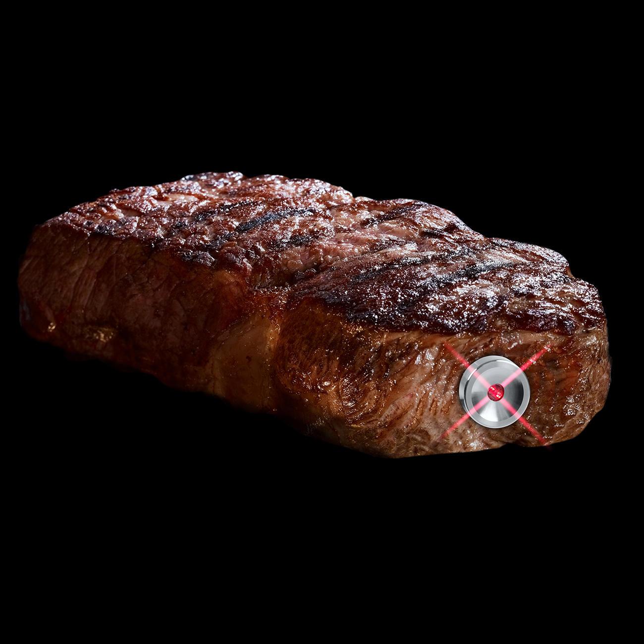 3 SteakChamp 3c black Generation Das ultimative Fleisch-Thermometer