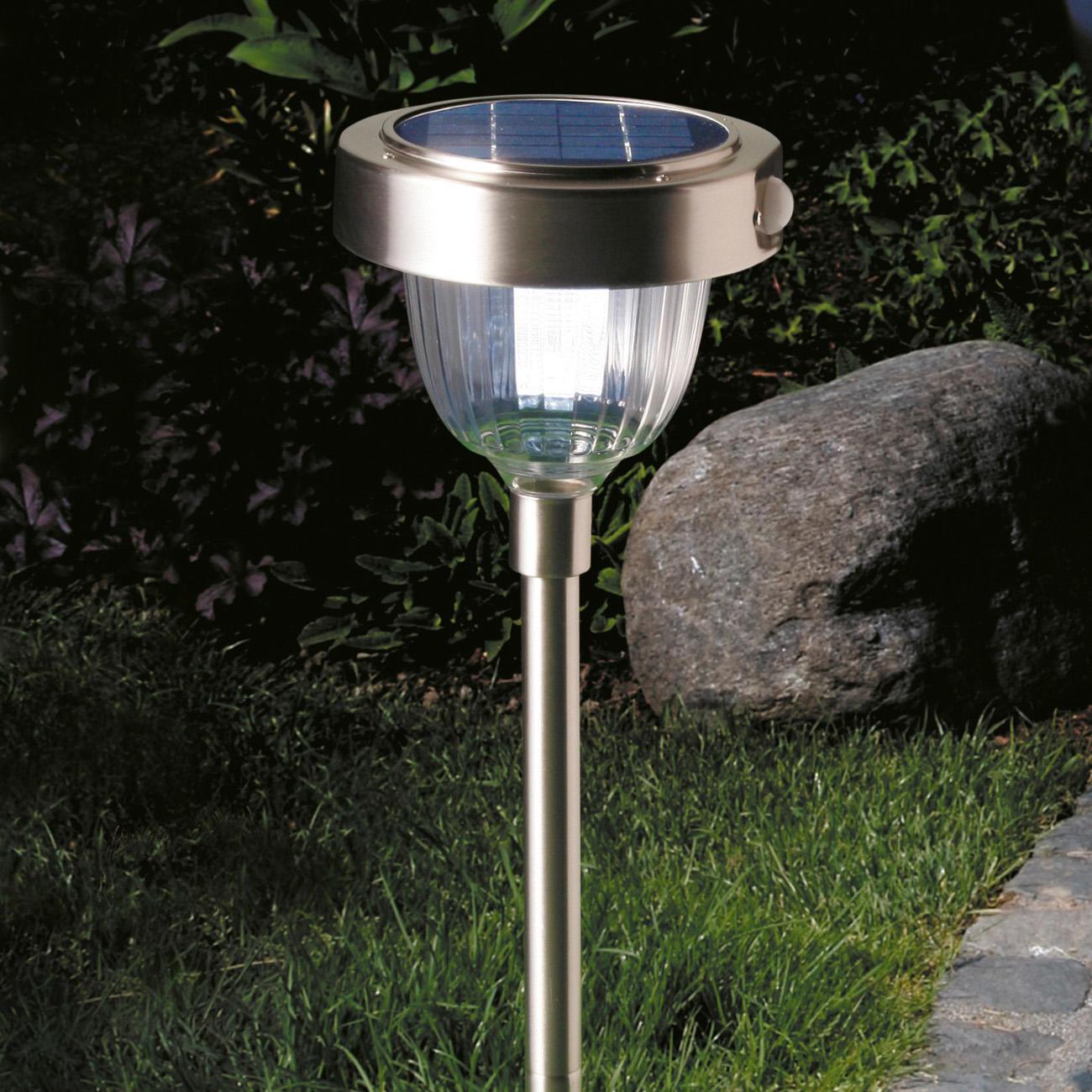 Lampe solaire intelligente garantie produit de 3 ans for Lampe de jardin detecteur de mouvement