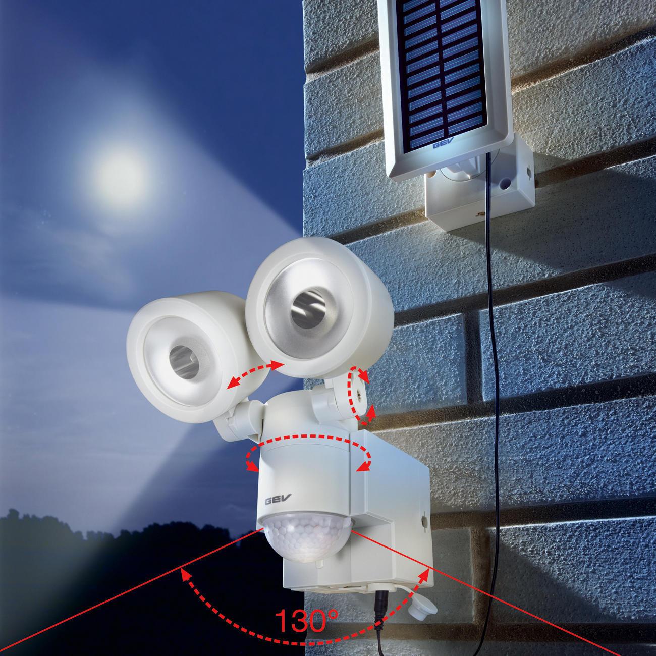 Spot solaire del garantie produit de 3 ans - Spot exterieur detecteur mouvement ...