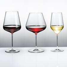 Calices à bourgogne, Verres à bordeaux ou Verres à vin blanc Zalto Denk'Art - Ultra fin, brillant, laissant idéalement passer la lumière. Résistant aux chocs, compatible lave-vaisselle.