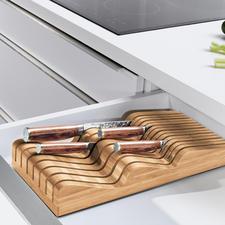 Porte-couteaux Robert Welch® - Pour ranger jusqu'à 20 (!) couteaux de diverses formes et tailles (au lieu des habituels 5 à 6).