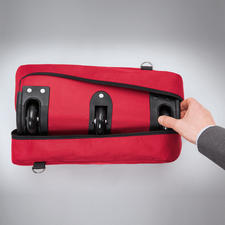 Votre sac de voyage XXL ultraléger est pliable, ce qui permet de le ranger très facilement.