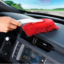 La petite brosse (fournie) vous permet de nettoyer aisément l'intérieur de votre voiture.
