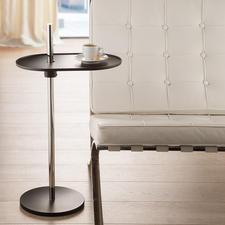 Table d'appoint Olivo - Pivotante à 360°. Hauteur réglable en continu. Avec un mécanisme génial à ressort à lames.