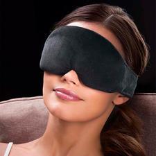 Masque de nuit - Léger comme une plume, mieux rembourré et enfin occultant à 100 %.Livré avec des bouchons d'oreilles.