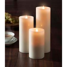 Bougie LED « flamme 3D » - Plus naturelle, plus romantique et plus festive.