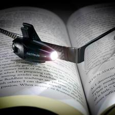 Lampe de lecture LED sur batterie « oiseau de nuit » - Parfait pour la lecture, pendant un trajet en train ou pour une balade nocturne avec le chien.