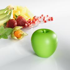 Piège à mouches, lot de 3 - Débarrassez-vous enfin des mouches à vinaigre. Un piège efficace et écologique en forme de pomme décorative.