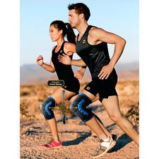 Bandages de musculation du genou PFLEXX®, lot de 2 - Le bandage de musculation du genou révolutionnaire PFLEXX®- pour le sport et au quotidien.