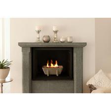 Pas de cendre, pas de suie et pourtant, un foyer à l'ambiance chaleureuse, avec le Schmelzfeuer® XL.