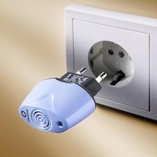 Prise anti-acariens 230 V - Moins de réactions allergiques à la poussière domestique grâce à la prise anti-acariens.