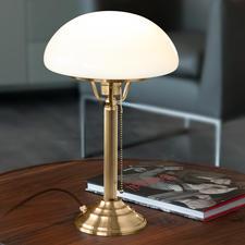 Lampe champignon « Berliner Messing-Pilzlampe » - Un classique datant des premiers temps de l'électricité.