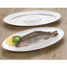 Plat à four & de service pour le poisson - Une cuisson parfaite pour votre poisson : juteux, parfaitement doré des deux côtés et servi de façon très stylée.