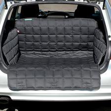 Au choix, en tant que couverture de coffre avec protection intégrée pour pare-choc.