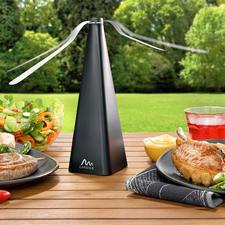 Chasse-insectes - Une invention géniale qui chasse les insectes volants loin de vos aliments.