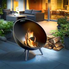 Brasero FireGlobe - Un feu de joie au design danois moderne. Sûr, esthétique et bien stable.