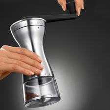 Moulin à café manuel 18 niveaux de mouture - Choisissez le degré de meulage adapté pour un expresso, un café filtre, un moka turque ...