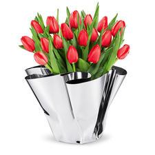 Vase à plis Margeaux - Façonné artistiquement à la main, chaque vase est unique.