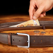 Ceinture sécurisée Chiarugi - Protégez-vous des pickpockets.