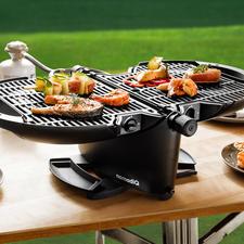 Barbecue à gaz portable NomadiQ - Votre barbecue est prêt en une minute. Sans flamme nue. Sans charbon.