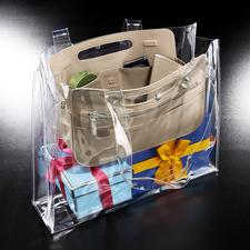 Idéale également comme pochette intérieure dans une serviette professionnelle ou un sac de shopping.