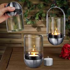Photophore Gravity Candle - Génial : le photophore suspendu par cardan s'éteint proprement en un tour de main.