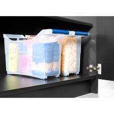 Parfait aussi pour ranger les conserves ou les ustensiles de cuisine et les avoir à portée de main en permanence.