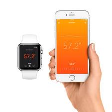 A commander via une application gratuite sur votre smartphone ou smart-watch.