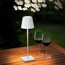 Il suffit d'appuyer avec votre doigt sur la tête de la lampe pour ajuster l'intensité lumineuse à vos besoins.