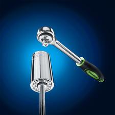Adapté à pratiquement toutes les formes de crochet, écrou et vis, de 7à 19mm deØ.