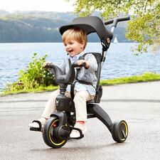 Tricycle pliable variable Liki - Pliable à la taille d'un bagage à main en quelques secondes.