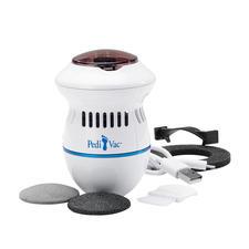 Pédicure PediVac™ - Beaucoup plus hygiénique : pédicure électrique avec fonction aspiration.