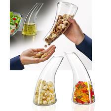 Distributeur de snacks/Carafe - La plus belle (et la plus appétissante) manière de servir des snacks.