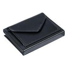 Multi Wallet, avec compartiment à petite monnaie, Noir