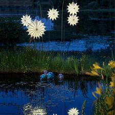 Lampion tous temps Barlooon - Lumière douce et décorative – sans altération ni décomposition.