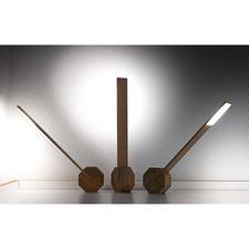 Incidence de la lumière variable– grâce à une base de forme octogonale.