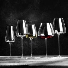 Verres à vin Vision, lot de 2 pièces - Dégustez votre vin dans les meilleures conditions avec ces verres de caractère.
