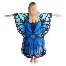 Papillon, Fuchsia/Bleu