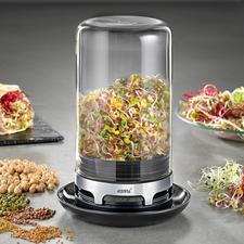 Germoir à graine Gefu - Croquantes, saines et délicieuses : de tendres graines germées de votre propre potager.
